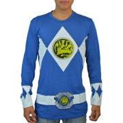 Power Rangers Blue Ranger Suit Blue Licensed T-shirt NEW Sizes S-XL