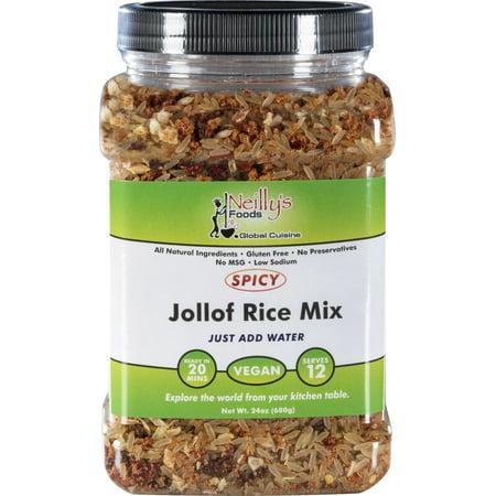 Neilly's Foods Spicy Jollof Rice Mix, 24.0 OZ ()