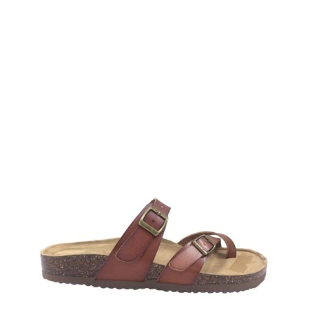 Women Time And Tru Footbed Slide - Birkenstock Shoe Conversion Chart
