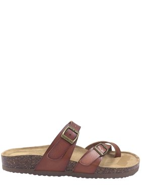 5e68cd6da8c Product Image Women Time And Tru Footbed Slide