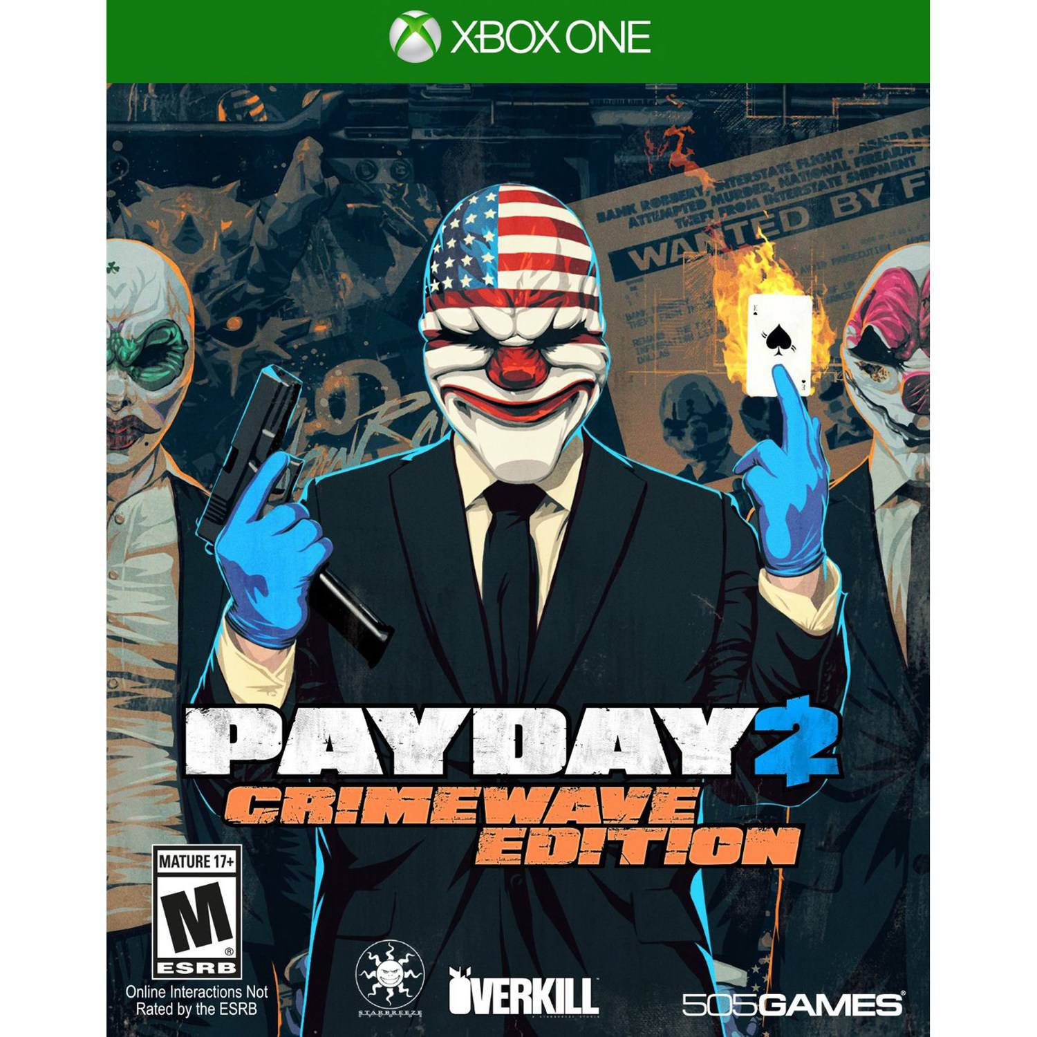 Payday 2: Crimewave Edition (Xbox One) - Pre-Owned