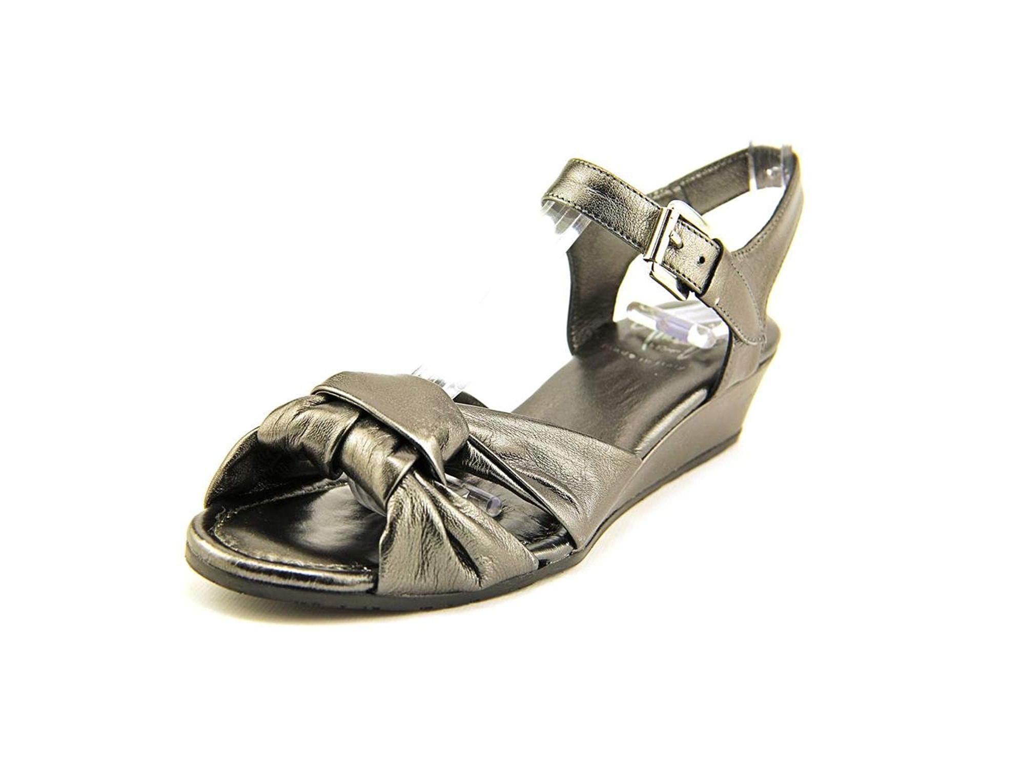 Amalfi By Rangoni Womens Mandy Open Toe Casual Ankle Strap Sandals by Amalfi by Rangoni