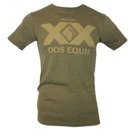 Dos Equis Beer  Mens T-Shirt -  Distressed Large XX - Dos Equis Dress