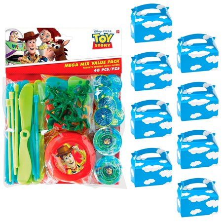 Toy Story Treat Boxes (Toy Story Filled Favor Box Kit (For 8)