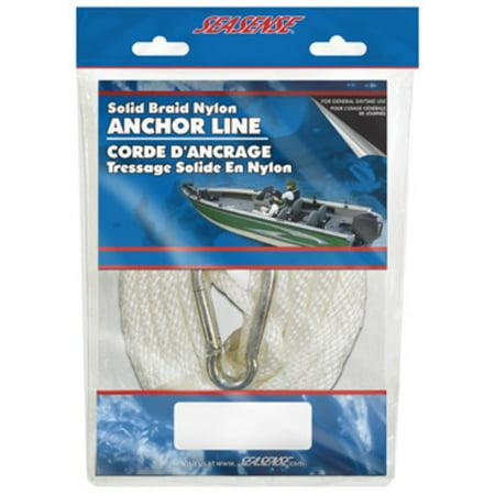 - SeaSense Solid Braid Nylon Anchor Line, 3/8