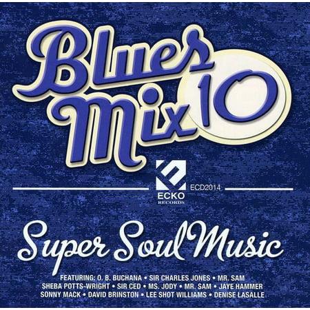 Blues Mix 10: Super Soul Music (CD)](Halloween Music Mixes)