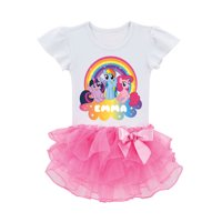 Personalized My Little Pony Rainbow Magic Toddler Girls' Tutu T-Shirt
