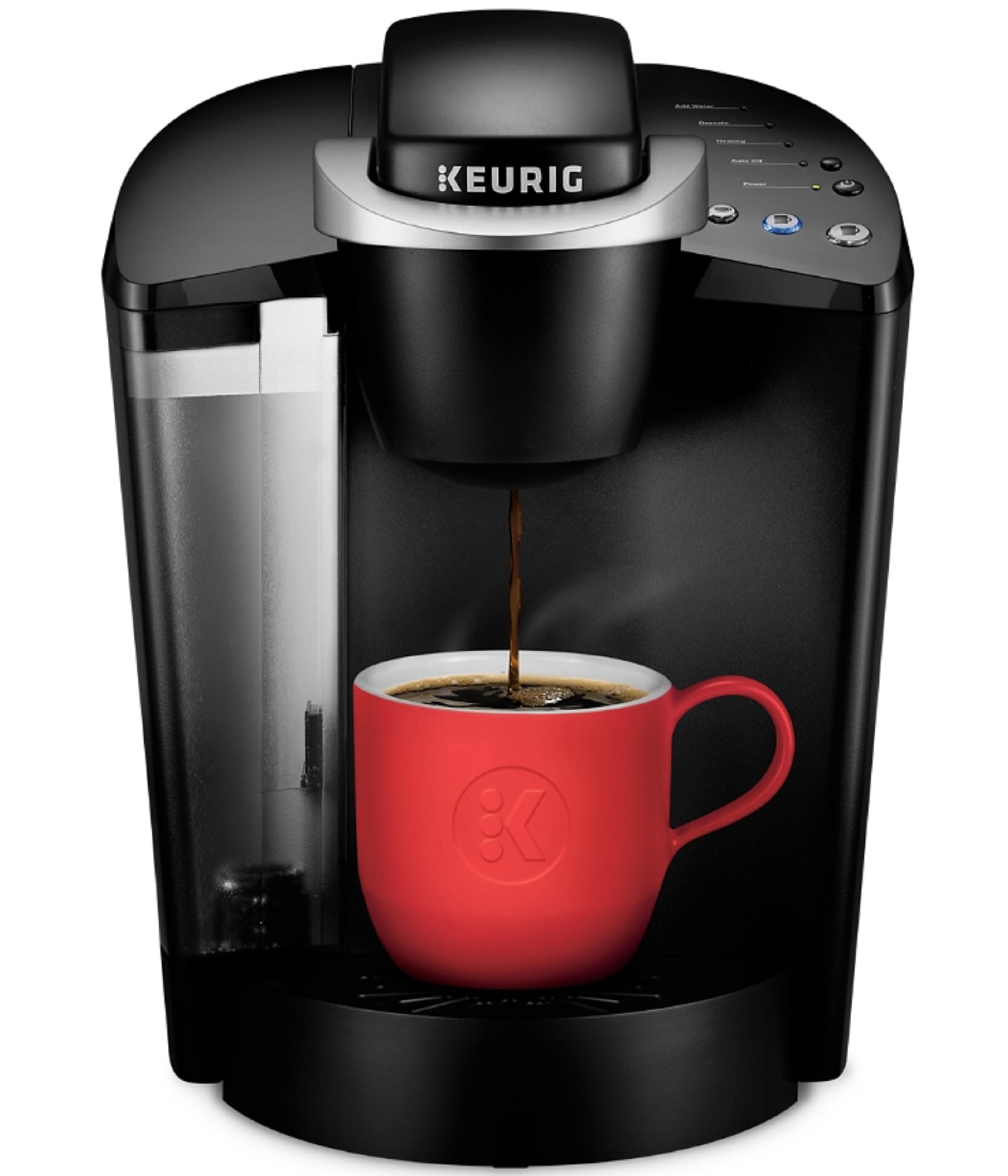 Keurig K-Classic Single Serve, K-Cup Pod Coffee Maker, Black