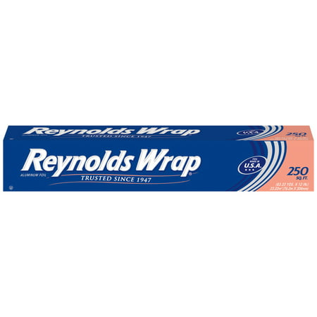 - Reynolds Wrap Aluminum Foil, 250 Square Feet