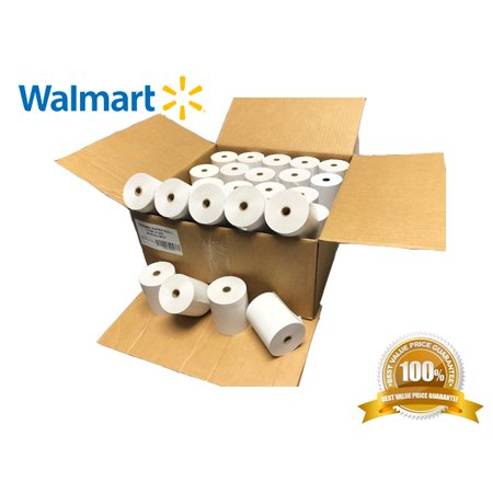 Tangle Free Thermal - 3-1/8 x 230' (50 Rolls) Thermal Paper 3