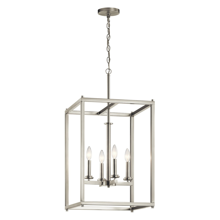 white foyer pendant lighting candle. Kichler Crosby 43998 Foyer Pendant Light White Lighting Candle 8