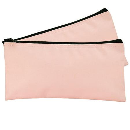 - DALIX Bank Bags Money Pouch Checks Cash Utility Keys in Pink (2 Pack Quantity)