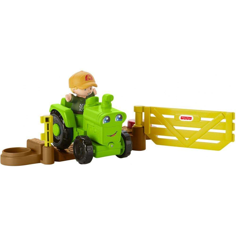 Little People Helpful Harvester Tractor by Fisher-Price