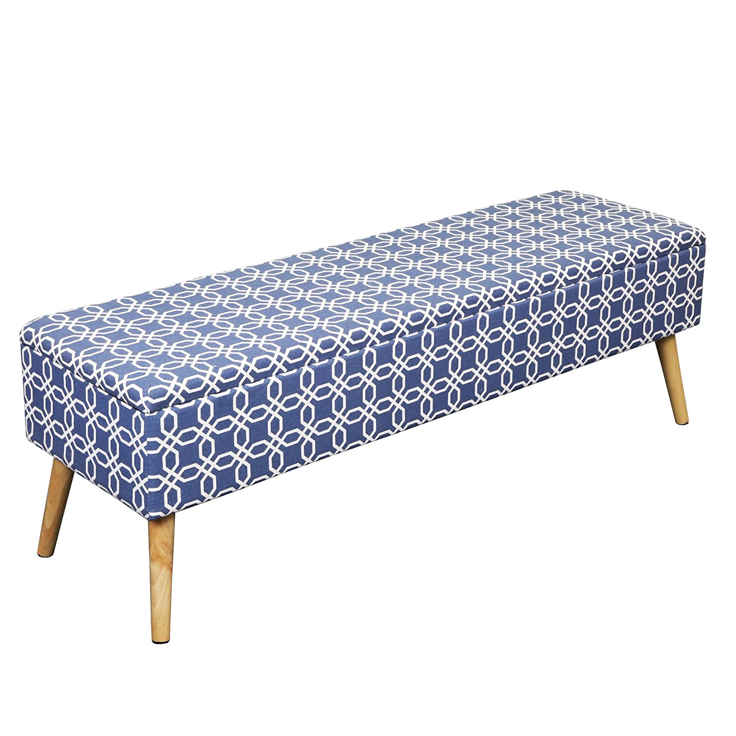Otto U0026 Ben Easy Lift Top Upholstered Ottoman Storage Bench, Multiple Colors
