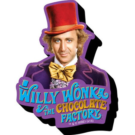 Magnet - Willy Wonka - Funky Chunky New Licensed 95497 - Willy Wonka Outfit Child