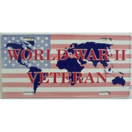 World War Veteran License Plate - image 2 de 2
