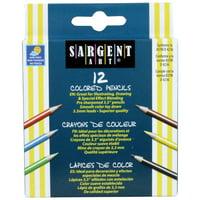 Sargent Art® Half Size Colored Pencils, 12 per pack, 24 packs
