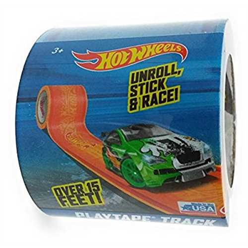 Hot Wheels Blue PlayTape Track 15'x1.75 by