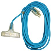 ATD Tools ATD-8008 25 ft. 3 Outlet Power Block Extension Cord