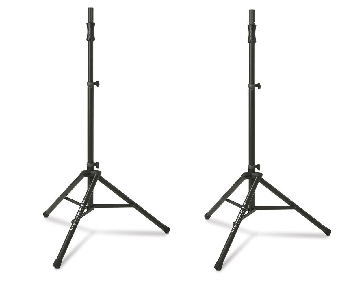 Ultimate Support TS-100B Air-Powered Series Lift-assist Aluminum Tripod Speaker Stand with Integrated Speaker... by Ultimate