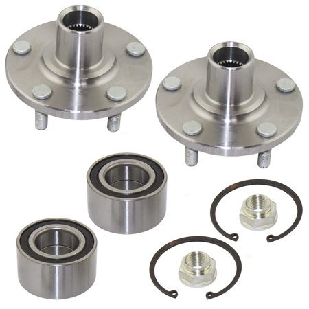 Pair Set Front Wheel Hub & Bearing Repair Kits Replacement for Lexus ES300 RX300 Toyota Avalon Camry Sienna Solara