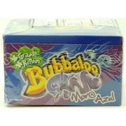 Product Of Bubbaloo, Chewing Gum Mora Azul (Blue Berry Sour), Count 50 - Gum / Grab Varieties & Flavors