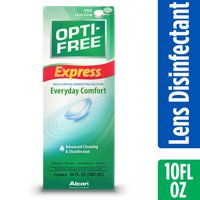 Opti-Free Express Contact Lens Solution Multipurpose Disinfecting Solution, 10 fl oz