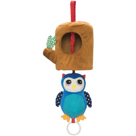 Donkey Pull Toy - Manhattan Toy Lullaby Owl Musical Pull Toy