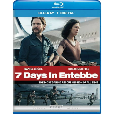 7 Days In Entebbe (Blu-ray + Digital) (8 Hours A Day 7 Days A Week)