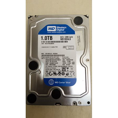 "Refurbished Western Digital  WD10EALS WD Caviar Blue 1TB 3.5"" SATA II (3.0Gb/s) Desktop Hard Drive"