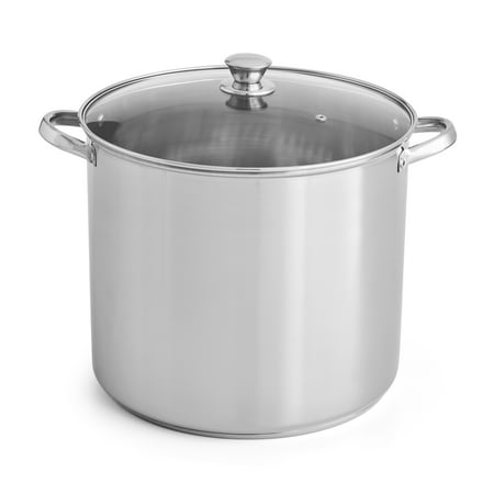 Mainstays 20 Quart Stock Pot (All Clad 20 Quart Stock Pot Stainless)