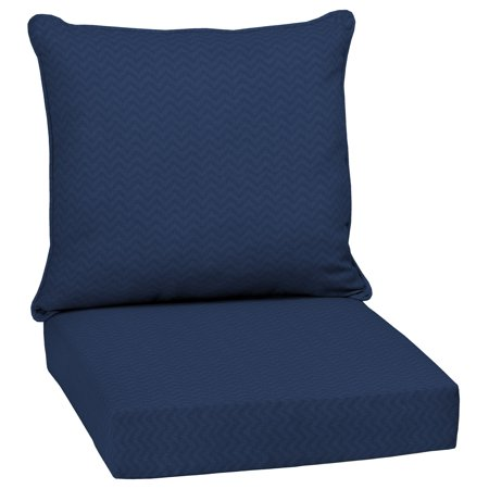 Arden Selections DriWeave Sapphire Leala 46.5 x 24 in. Outdoor Deep Seat Cushion Set ()