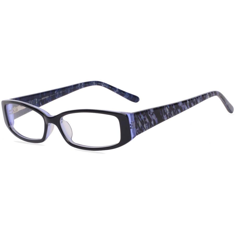 most popular glasses frames 23o3  Contour Womens Prescription Glasses, FM14111 Black/Purple