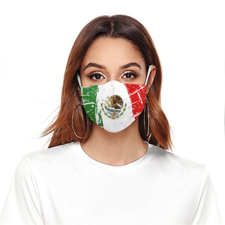 outdoorline Adults Breathable Face Mask Anti-dust Anti-haze Digital Printing Pattern Mouth Mask B178-114 - image 8 of 8