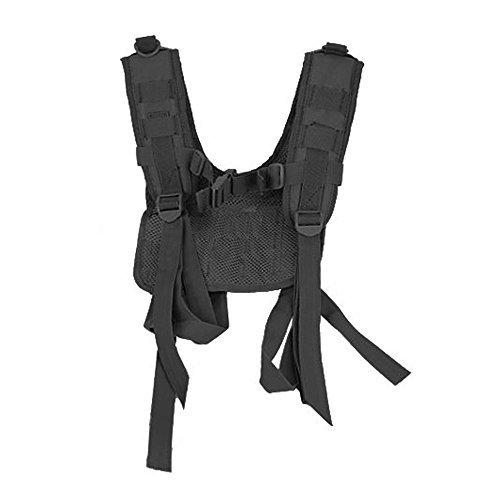 Condor #215 Tactical H-Harness for Battle Belts Black by Condor