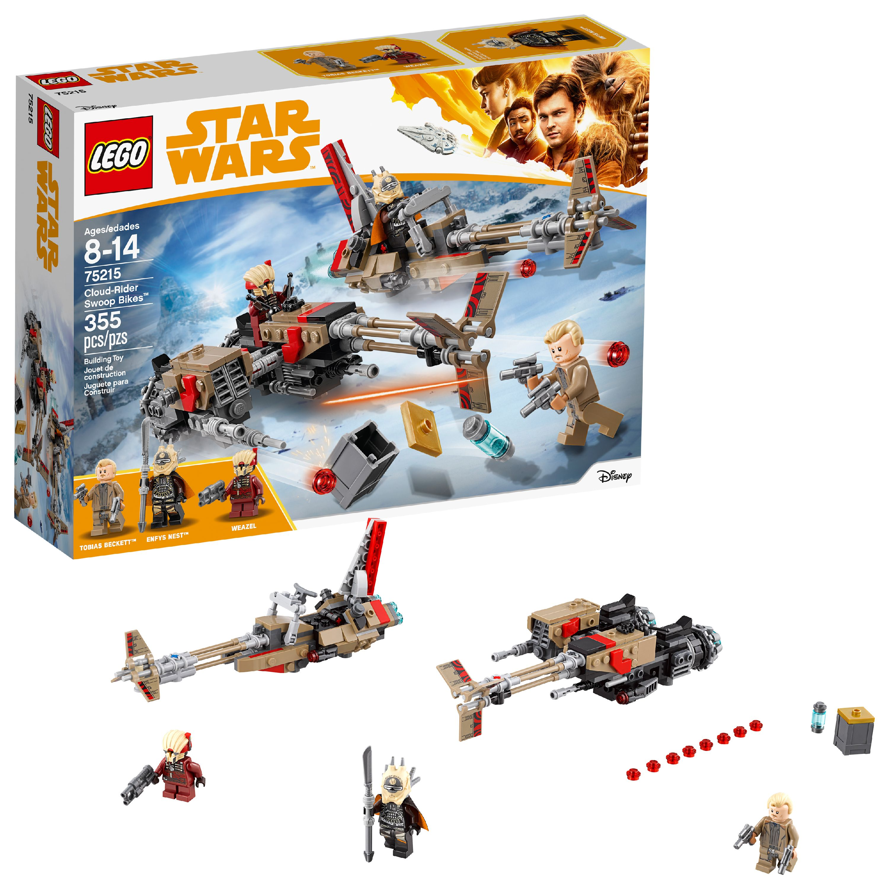 LEGO Star Wars TM Cloud-Rider Swoop Bikes 75215 Building Set