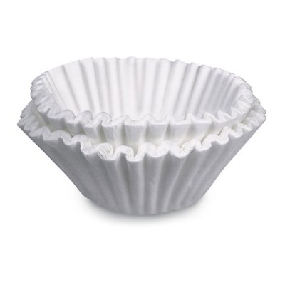 Brew Rite Basket Coffee Filters, White, 1000 Ct by Brew-Rite