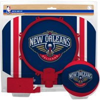 New Orleans Pelicans Rawlings Softee Hoop & Ball Set - Navy - No Size