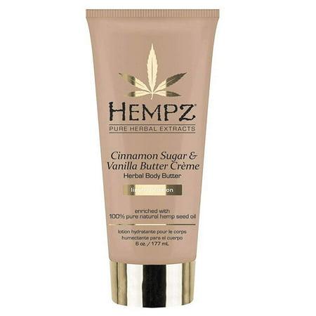 Hempz Cinnamon Sugar & Vanilla Butter Creme Herbal Body Butter -