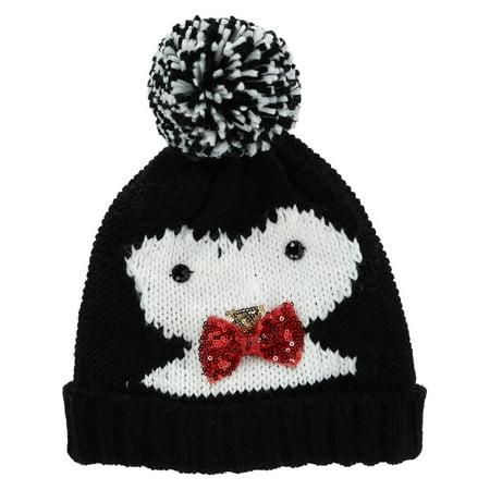CTM - Women s Novelty Holiday Cuff Beanie Hat - Walmart.com 63e85ac5ee6