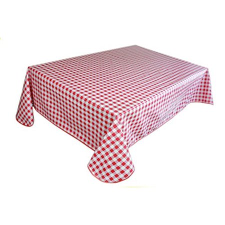 Lavin Tablecloth Pvc Wipe Clean Checker Pattern Table Cloth