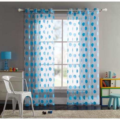 VCNY  Sophie Dot Grommet Curtain Panel