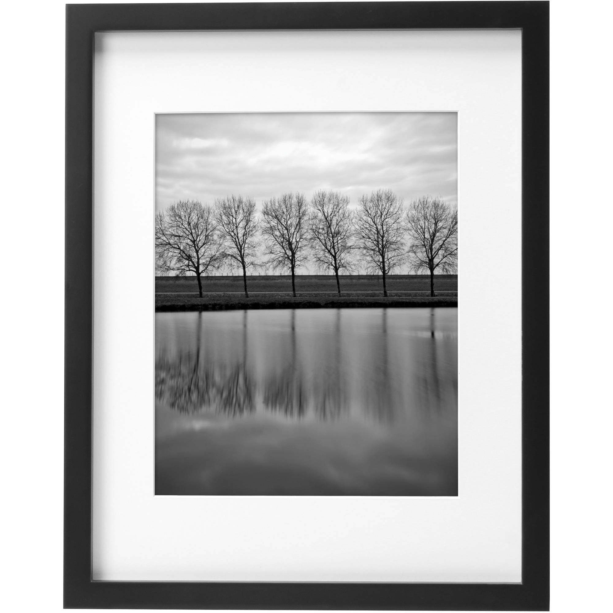 "Better Homes and Gardens Gallery Picture Frame 11"" x 14"", Matted to 8"" x 10"" Images"