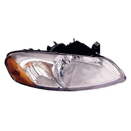 Go-Parts » 2001 - 2003 Chrysler Sebring Front Headlight Headlamp Assembly Front Housing / Lens / Cover - Left (Driver) Side - (Convertible + 4 Door; Sedan) 4805821AA CH2502128 Replacement For) Chrysler Sebring Touring Convertible