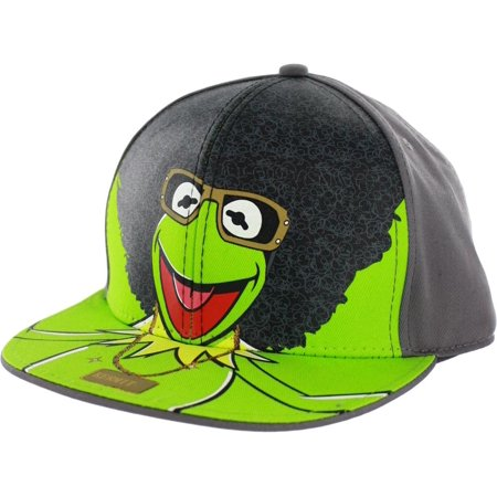 The Muppets Afro Kermit Adjustable Baseball Cap - Muppets Accessories