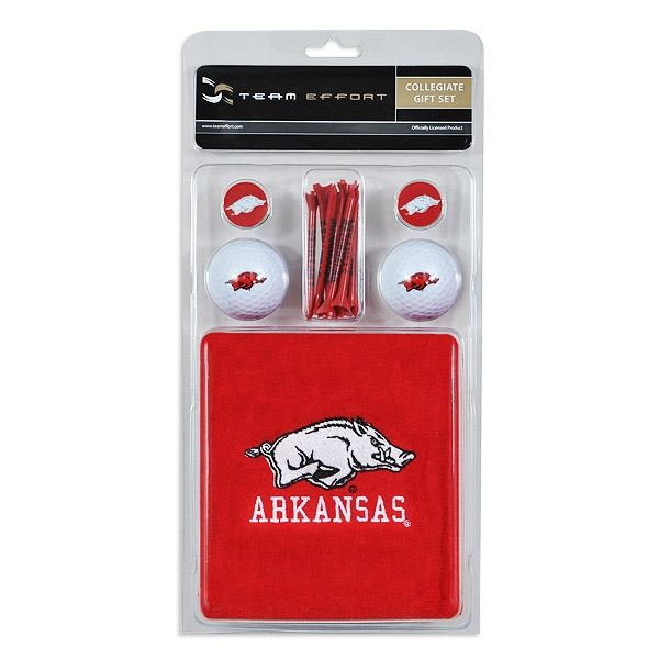 Arkansas Razorbacks Collegiate Golf Gift Set
