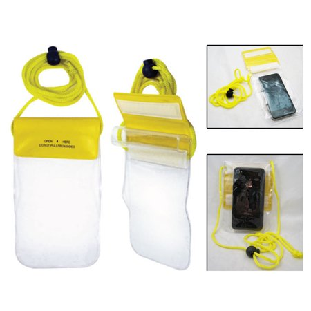 Clear Waterproof Pouch Bag Dry Case Cover All Cell Phone PDA Samsung Camera (Pda Cell Phone Rubber)