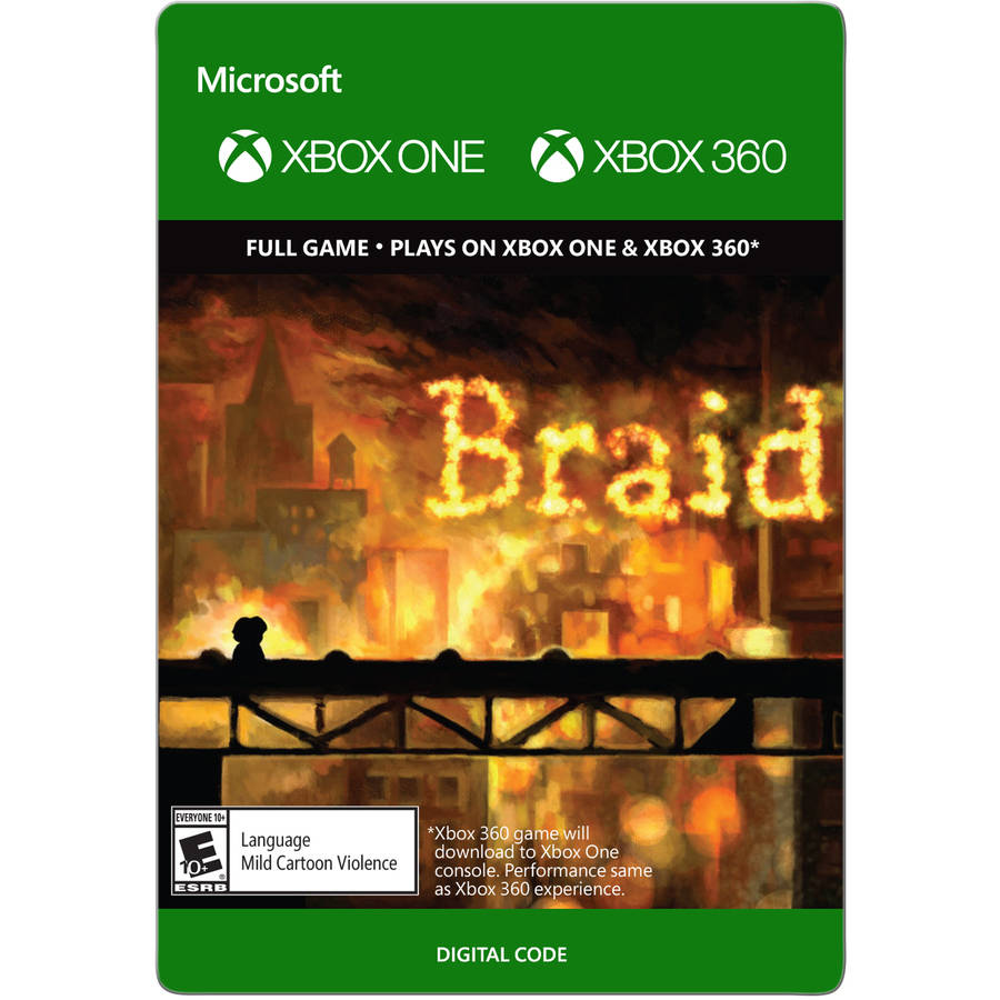 Xbox 360 Braid (Email Delivery)