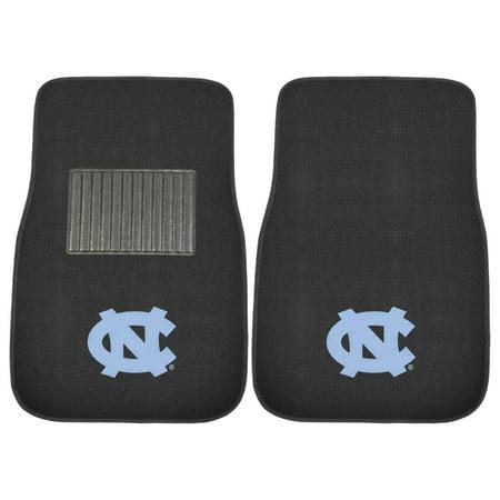North Carolina Tar Heels Cloths (NCAA University of North Carolina - Chapel Hill Tar Heels 2-PC Embroidered Front Car Mat Set, Universal Size )