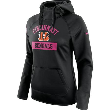 Cincinnati Bengals Nike Women's Breast Cancer Awareness Circuit Performance Pullover Hoodie - (Womens Nike Breast)